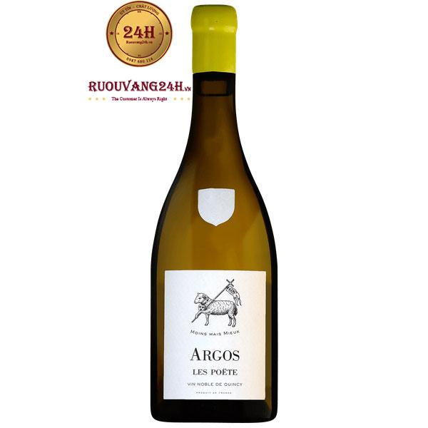 Rượu Vang Domaine Les Poete Argos Quincy