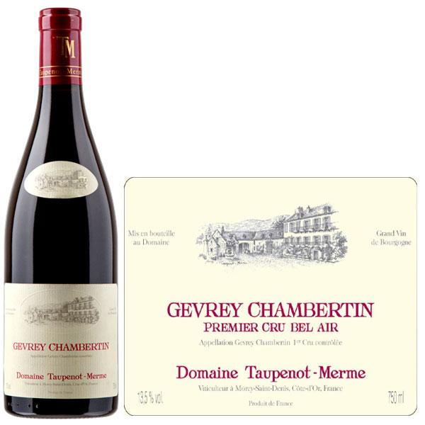 Rượu Vang Domaine Taupenot Merme Gevrey Chambertin