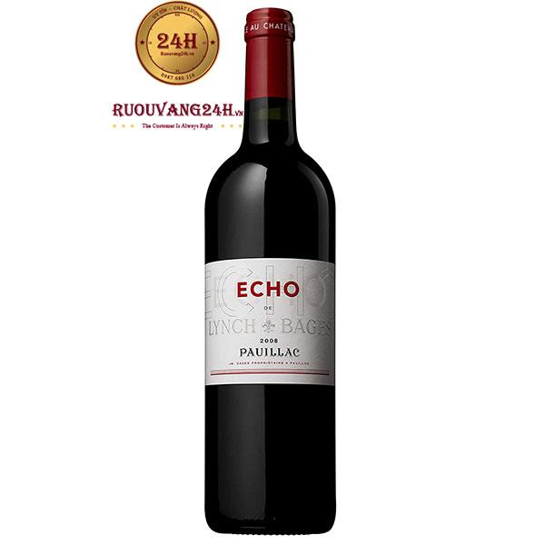 Rượu Vang Echo De Lynch Bages