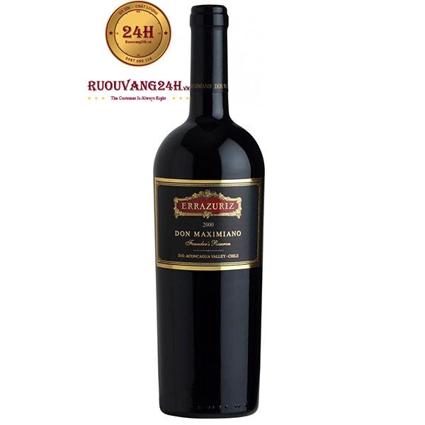 Rượu Vang Errazuriz Don Maximiano Founder's Reserve