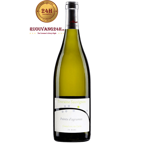 Rượu Vang FX Barc Pointe D'Agrumes Sauvignon – Touraine