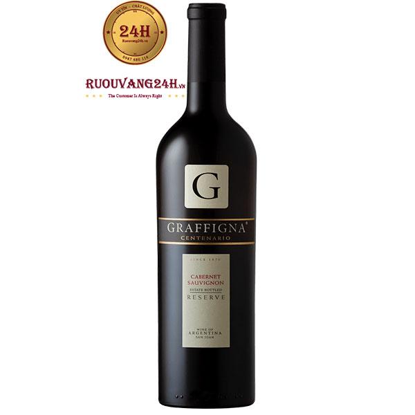 Rượu Vang Graffigna Centenario Reserva Cabernet Sauvignon