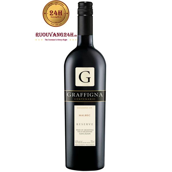 Rượu Vang Graffigna Centenario Reserva Malbec