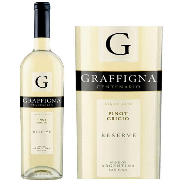 Rượu Vang Graffigna Centenario Reserva Pinot Grigio