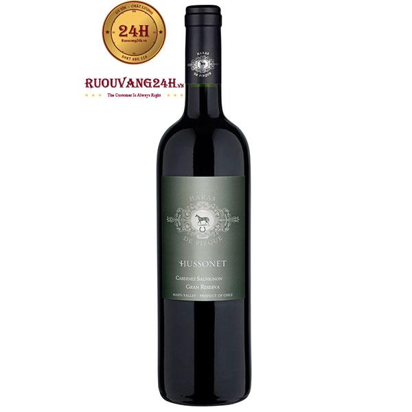 Rượu Vang Haras De Pirque Hussonet Cabernet Sauvignon