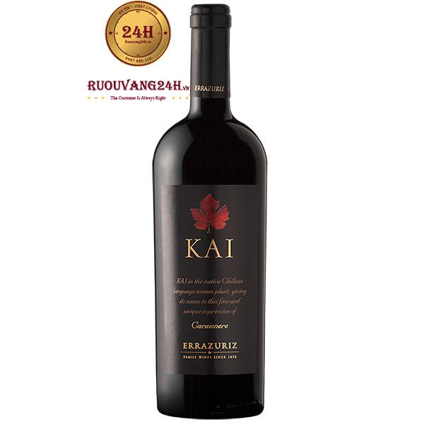 Rượu Vang Kai Carmenere Errazuriz