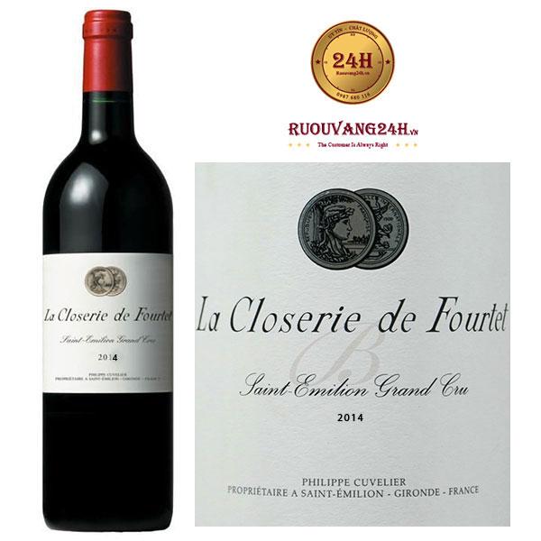 Rượu Vang La Closerie De Fourtet 2014