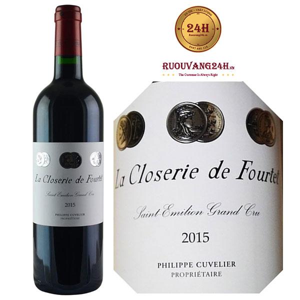 Rượu Vang La Closerie De Fourtet 2015
