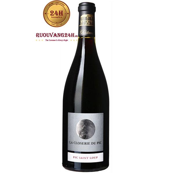 Rượu Vang La Closerie Du Pic Pic Saint Loup