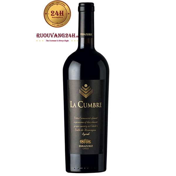 Rượu Vang La Cumbre Syrah Errazuriz
