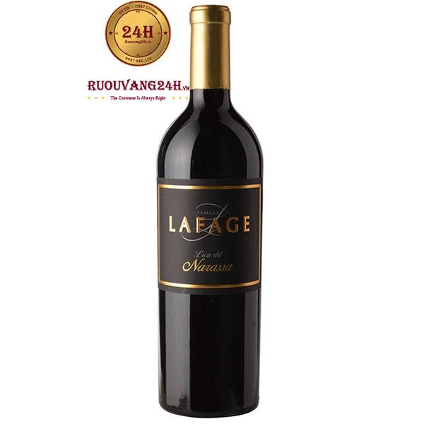 Rượu Vang Lafage Narassa Grenache – Syrah