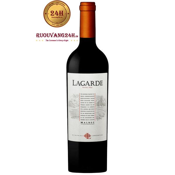 Rượu Vang Lagarde Malbec