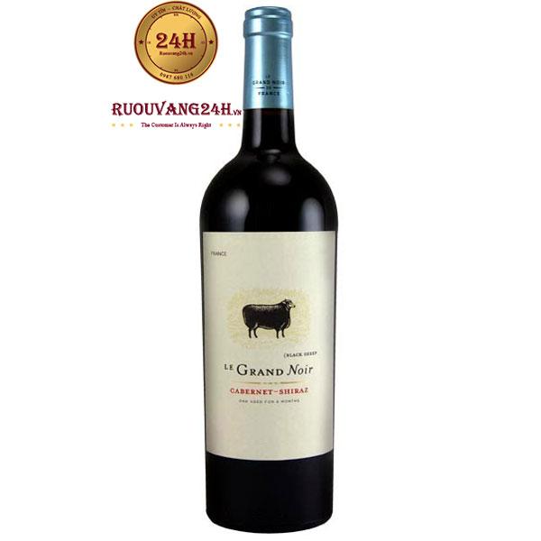 Rượu Vang Le Grand Noir Cabernet Sauvignon – Syrah