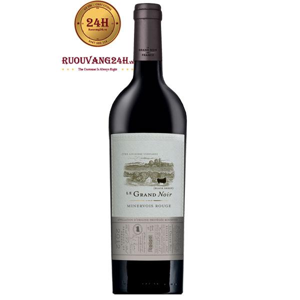 Rượu Vang Le Grand Noir Minervois Syrah – Grenache