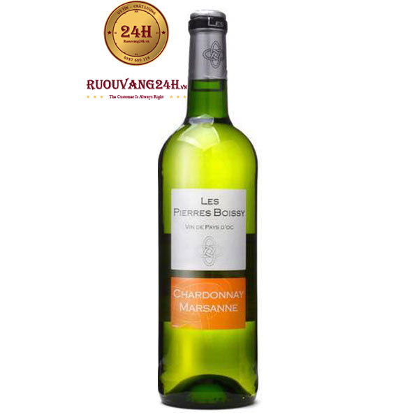 Rượu Vang Les Pierres Boissy Chardonnay Marsanne