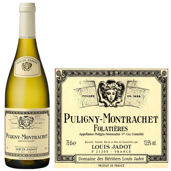 Rượu Vang Louis Jadot Puligny Montrachet