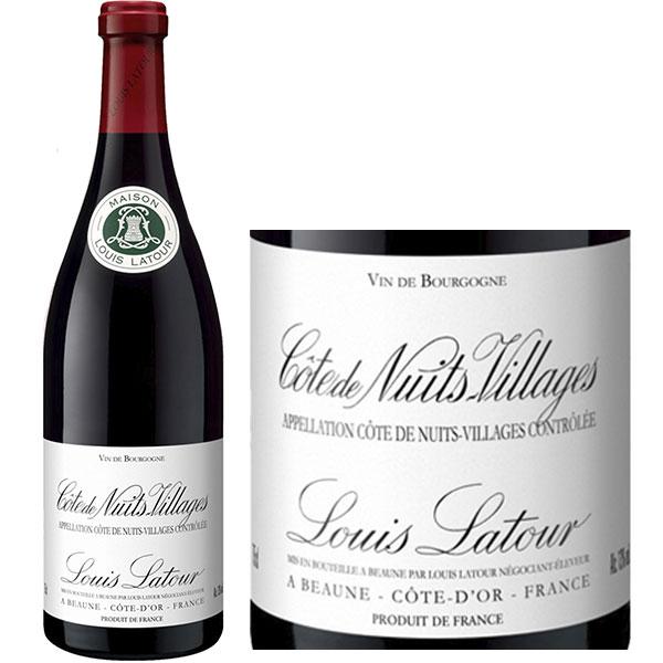 Rượu Vang Louis Latour Côte De Nuits Villages