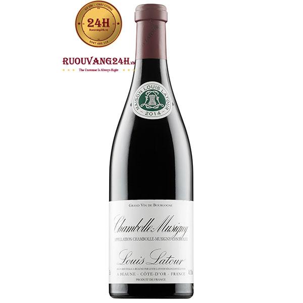 Rượu Vang Louis Latour Chambolle Musigny
