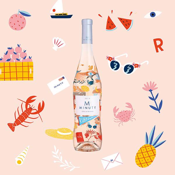 Rượu Vang M De Minuty Ruby Taylor