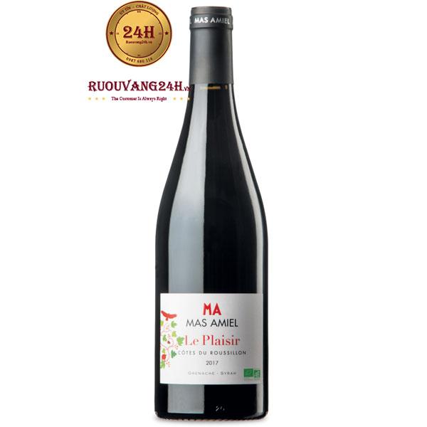 Rượu Vang Ma Mas Amiel Le Plaisir Cotes Du Roussillon
