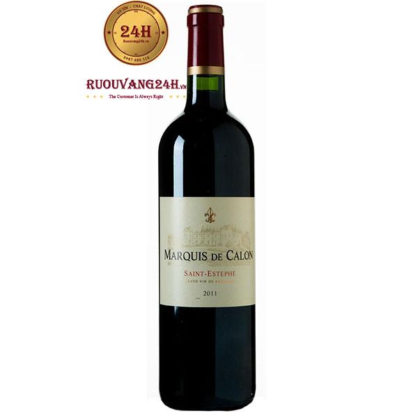 Rượu Vang Marquis De Calon Saint Estephe