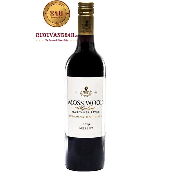 Rượu Vang Moss Wood Ribbon Vale Merlot