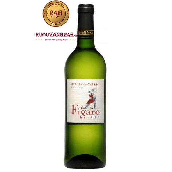 Rượu Vang Moulin De Gassac Figaro Blanc