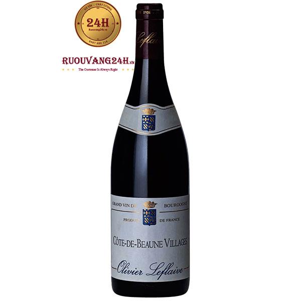 Rượu Vang Olivier Leflaive Cote de Beaune Villages