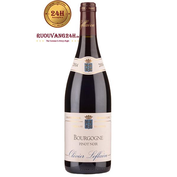 Rượu Vang Olivier Leflaive Pinot Noir Bourgogne