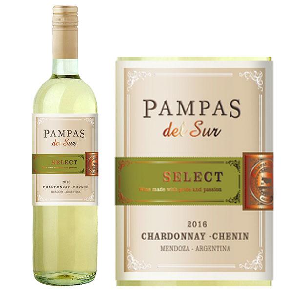 Rượu Vang Pampas Del Sur Select Chardonnay - Chenin