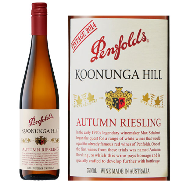 Rượu Vang Penfolds Koonunga Hill Autumn Riesling