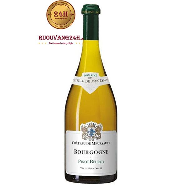 Rượu Vang Pháp Bourgogne Pinot Beurot