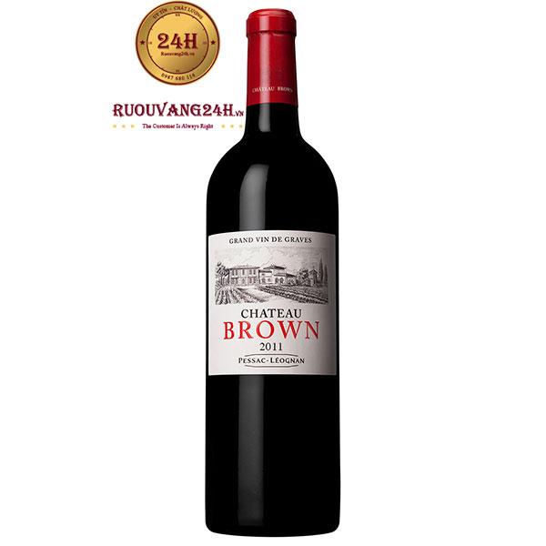 Rượu Vang Pháp Chateau Brown
