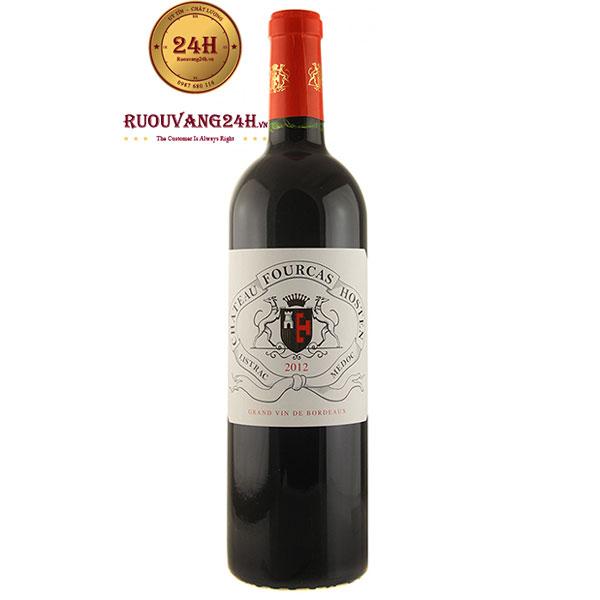 Rượu Vang Pháp Chateau Fourcas Hosten