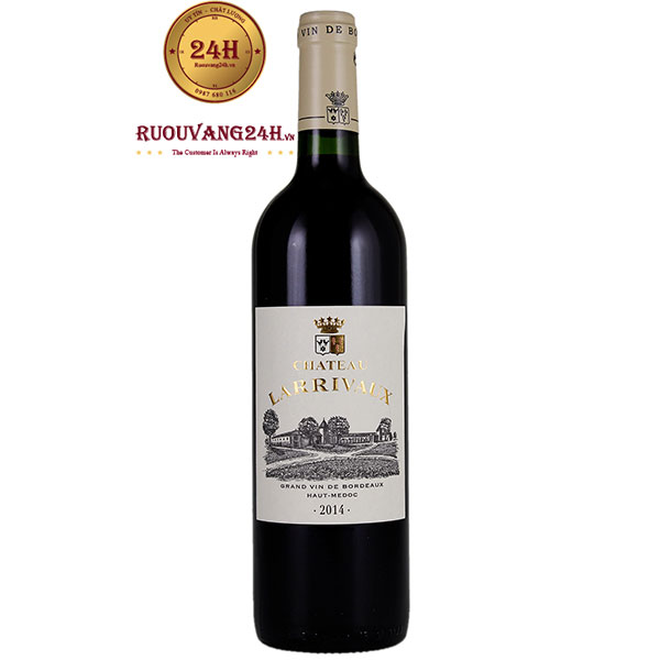 Rượu Vang Pháp Chateau Larrivaux