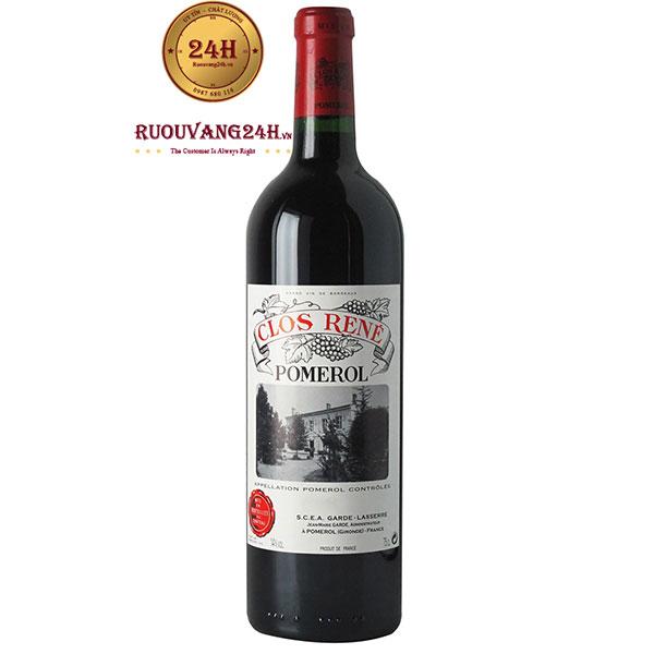 Rượu Vang Pháp Clos Rene Pomerol