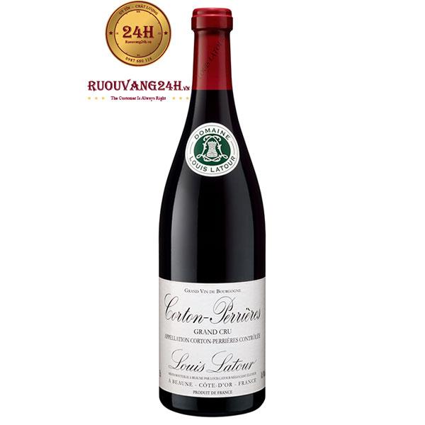 Rượu Vang Pháp Louis Latour Corton Perrières
