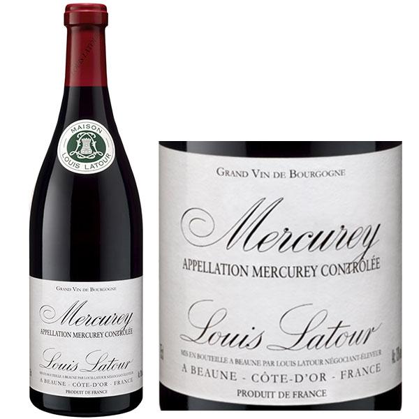Rượu Vang Pháp Louis Latour Mercurey