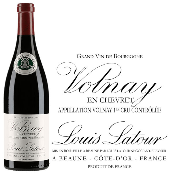 Rượu Vang Pháp Louis Latour Volnay En Chevret