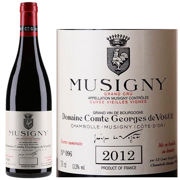 Rượu Vang Pháp Musigny Grand Cru