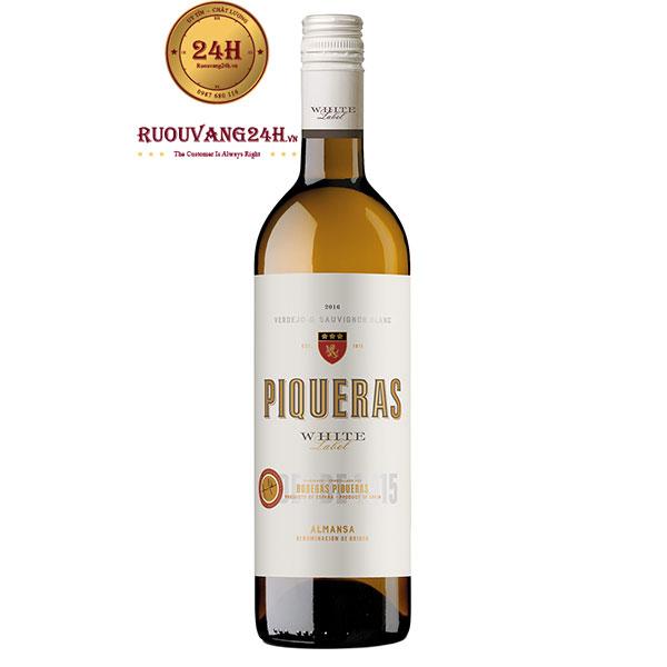 Rượu Vang Piqueras Verdejo Sauvignon Blanc