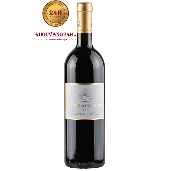 Rượu Vang Poggio Alle Nane Maremma Toscana