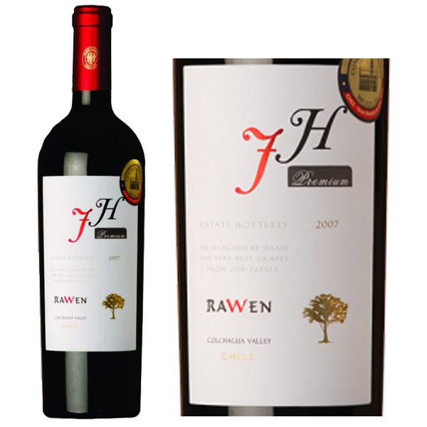 Rượu Vang Rawen FH Premium Carmenere Syrah