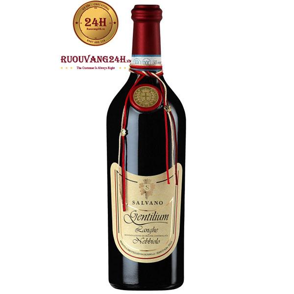 Rượu Vang Salvano Gentilium Lange Rosso