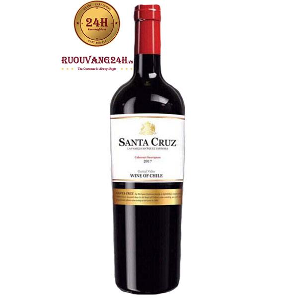 Rượu Vang Santa Cruz – Vang Chile Giá Rẻ