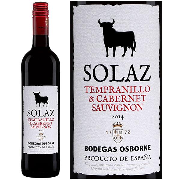 Rượu Vang Solaz Tempranillo & Cabernet Sauvignon