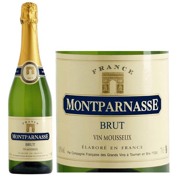 Rượu Sâm Panh Montparnasse Vin Mousseux Brut