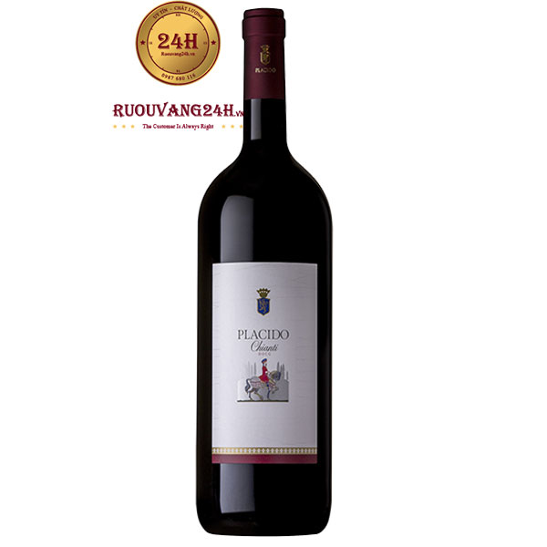 Rượu Vang Ý Banfi Placido Chianti DOC