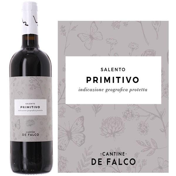 Rượu Vang Ý Cantine De Falco Primitivo Salento