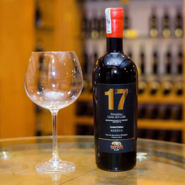 Rượu Vang 17 Trepini Primitivo Limited